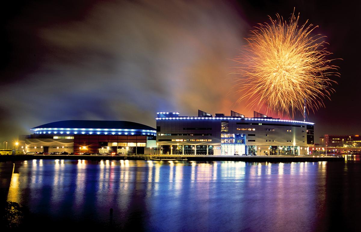 SSE Belfast Arena Fireworks