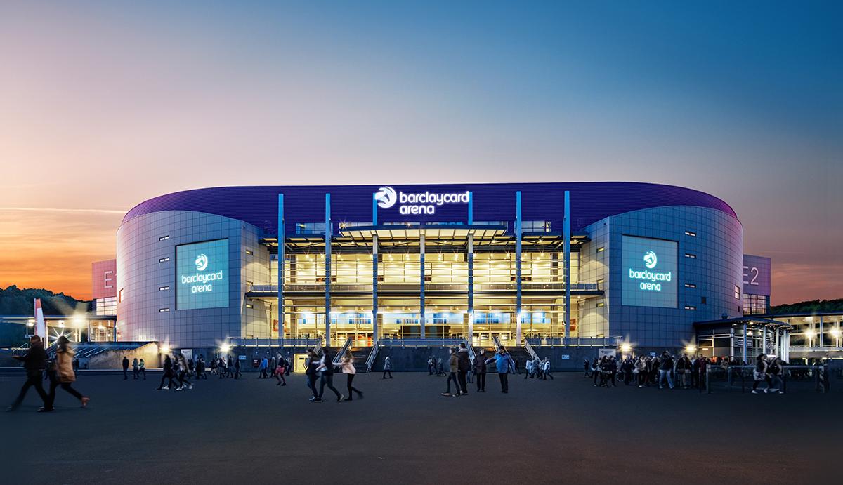 Barclaycard Arena, Hamburg