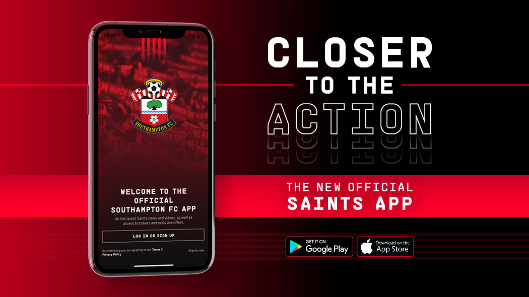 Southampton F.C. Launches New 'Saints' App Utilizing Realife Tech's Mobile Fan Solutions